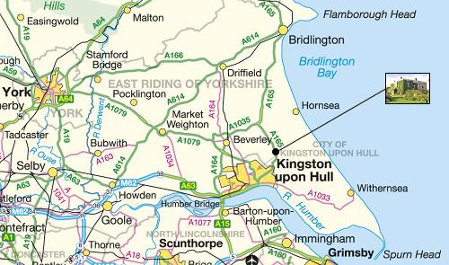 Dowthorpe Hall Location Area